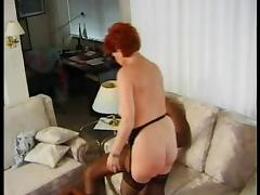 GERMAN MATURE BBW KIRA RED FUCKED BY HUGE BLACK COCK tube porn video