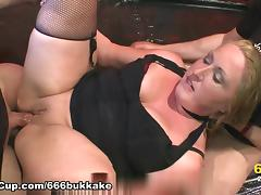 666Bukkake Video: Carisma In The Piss Laboratory tube porn video