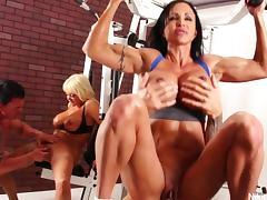Nikita Von James Workout 4some tube porn video