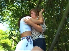 Lesbian porn film showing bitches having sex tube porn video