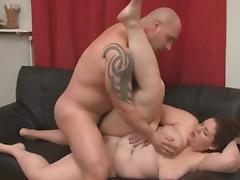 Brunette Amateur-BBW-Milf Anal tube porn video
