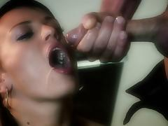 Holly Wellin lets a stud toy her asshole and fuck it doggystyle tube porn video