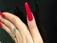 The most beautiful long nails in the world tube porn video