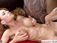 Hottie teacher Janet Mason gets facialized tube porn video