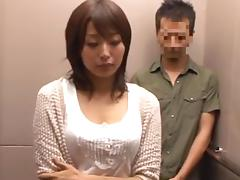 Housewives in the backroom of elevator .. tube porn video