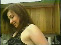Vintage amateur fuck with a wife in stockings taking cock tube porn video