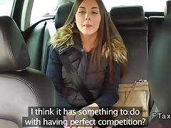 Beautiful Czech babe banged in fake taxi tube porn video