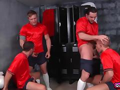 I just want to fuck hot guys, like this team! tube porn video