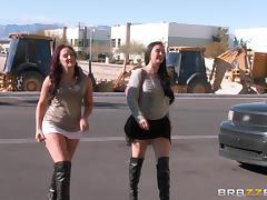 Kinky bimbo gets her rectum rammed in the club tube porn video