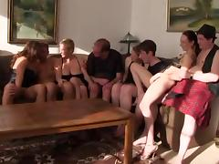 German amateur orgy with old and young tube porn video