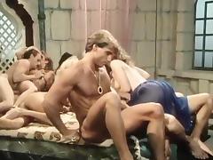 Kristara Barrington, Susan Berlin, Bunny Bleu in vintage sex video tube porn video