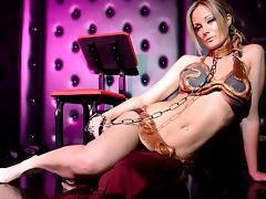 Elizabeth Bally in The Iconic Metal Bikini Scene tube porn video