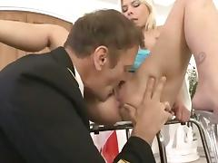 Huge Euro Orgy for Rocco Siffredi and Friends tube porn video