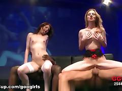 GermanGooGirls Video: Two Nasty Cum Brats tube porn video