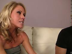 Bad mama is eager to eat his asshole before they fuck tube porn video