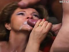 Casalinga blonde anal tube porn video