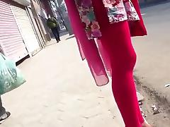 Girl in Kurta and Sexy Tights tube porn video