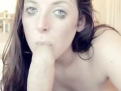 Foreskin sucking tube porn video