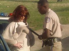 Redhead MILF Marilyn Chambers fucking police tube porn video