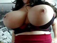 Webcams 2014 - Sexy Italian with MASSIVE TITS 3 tube porn video