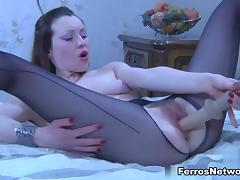 EPantyhoseLand Video: Ambrose A tube porn video