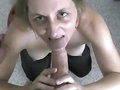 Ponytailed babe gives a steamy blowjob before getting screwed hardcore tube porn video