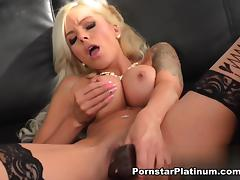 Nina Elle in Deep Dildo Plunging tube porn video