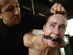 BrutalPunishment Video: Chick Bound and Led Like a Dog tube porn video