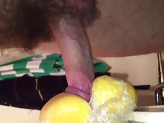Close up of my home made fleshlight tube porn video