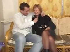 Russian mature and boy - 10 tube porn video