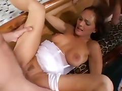 Bride Has Threesome With Groomsmen tube porn video