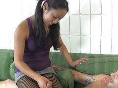 Lab Partner Elan Kane is Actually a Mean CBT Queen tube porn video