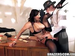 Brazzers - Anna Polina sucks some cops cock tube porn video
