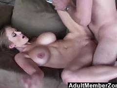 Abbey Lane 's big bouncing boobs will get you off tube porn video