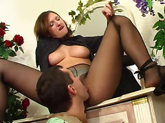 PantyhoseLine Scene: Jaclyn and John I tube porn video