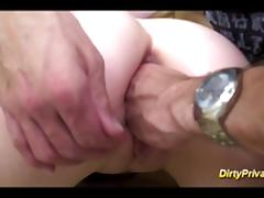 french Nymph gets cock in asshole tube porn video
