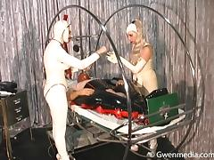 Rubber Doll Factory Part 1 Latex Femdom tube porn video