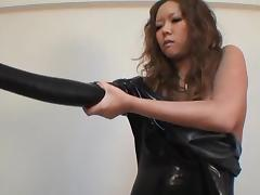Japanese Latex Catsuit 03 tube porn video