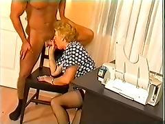 Hungarian Granny Fucks tube porn video