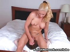 Heidi Mayne Takes Her Slave Out of the Closet for More Smothering tube porn video