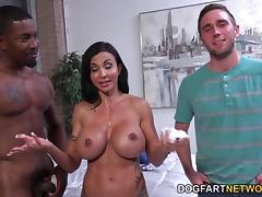 Jewels Jade Goes Black In Front Of Her Stepson tube porn video