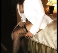 Satin's Stockings tube porn video