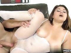 Voodoo & Bella in Colombian tan Scene tube porn video
