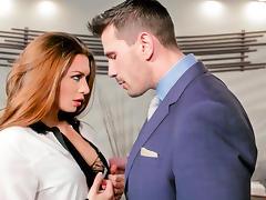 Veronica Vain & Manuel Ferrara in Screwing Wall Street: The Arrangement Finders Play Movie tube porn video