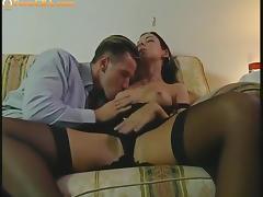 Amazing beauty fucked anal hard tube porn video