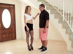 Radiant sex doll seduces a horny dude and gets fucked silly tube porn video
