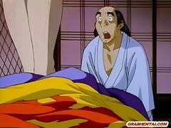 Japanese anime Princess gets licked her dripping wetpussy tube porn video