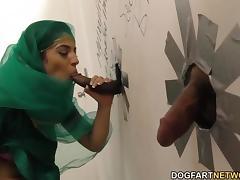 Nadia Ali having fun with black cock tube porn video