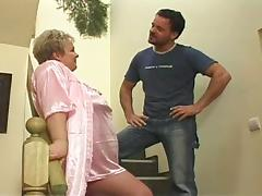 Granny gets fucked as a punishment tube porn video