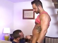 Horny gay hunks fuck one another in the asshole tube porn video